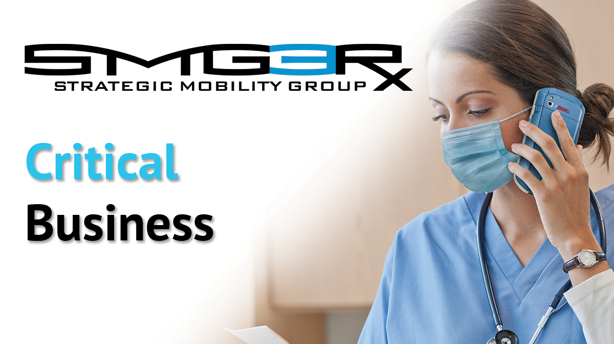 RE: AUTHORIZED CRITICAL BUSINESS SMG3 REMAINS OPEN DURING ILLINOIS STAY-AT-HOME